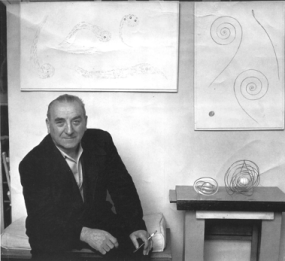 Georges Vantongerloo, Impasse du Rouet, ca.1954